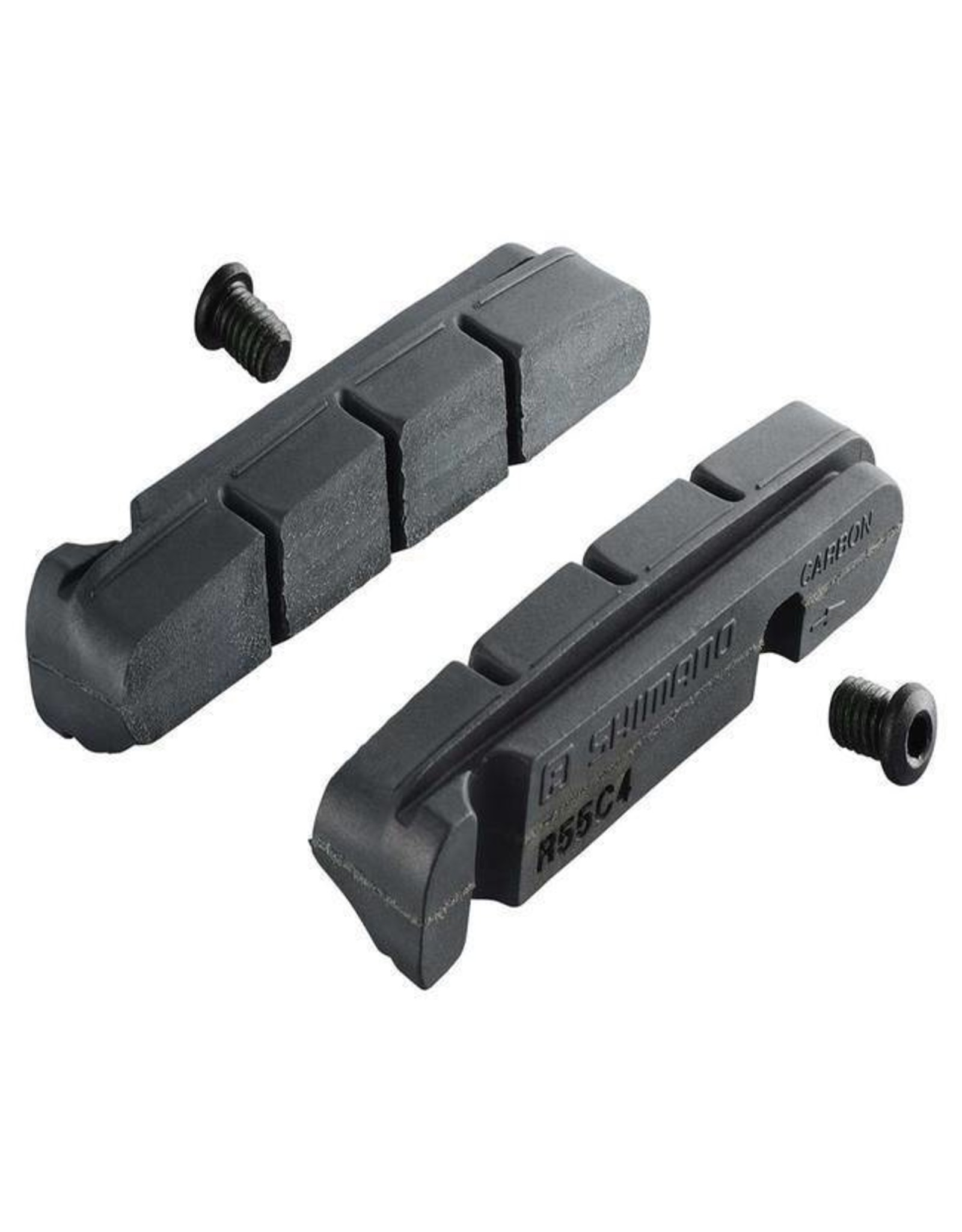 SHIMANO Bulk Shimano R55C4 Cartridge Inserts Road Pads - Single Pair