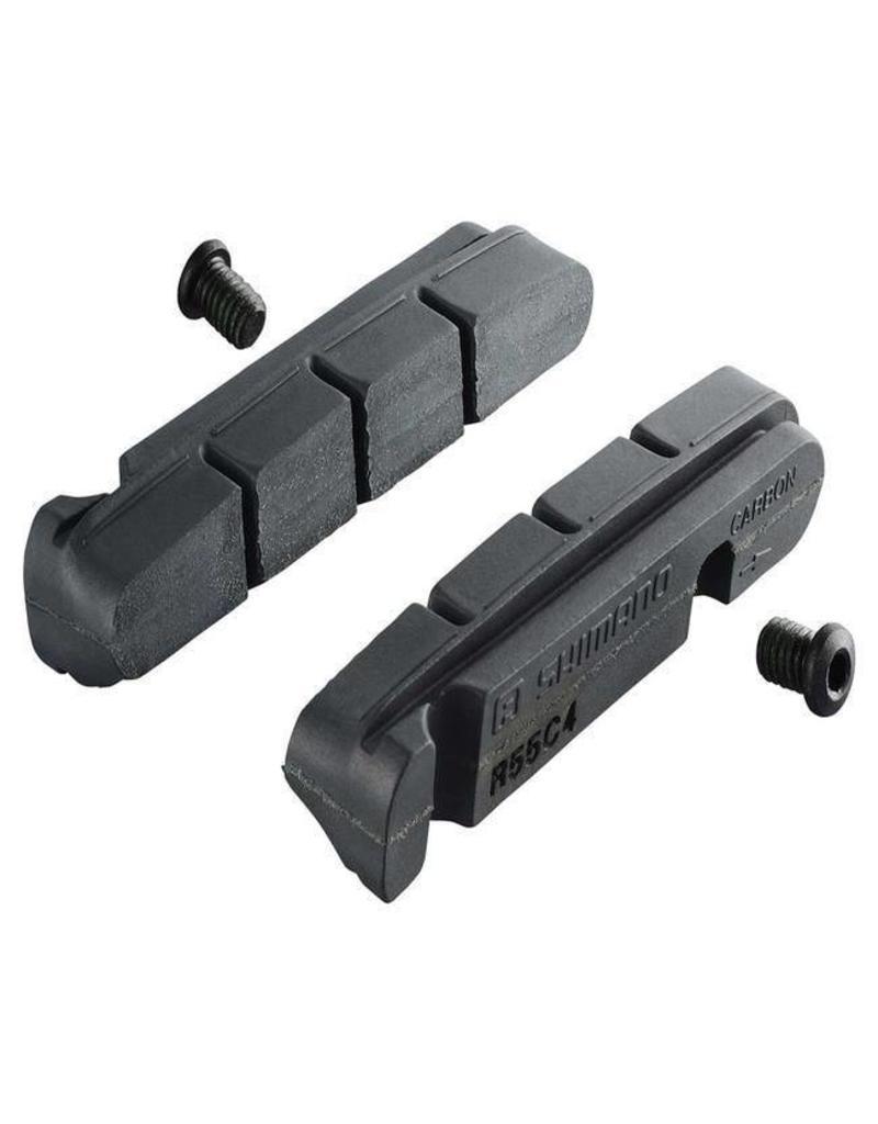 SHIMANO Bulk Shimano R55C4 Cartridge Inserts Road Pads - Single Pair