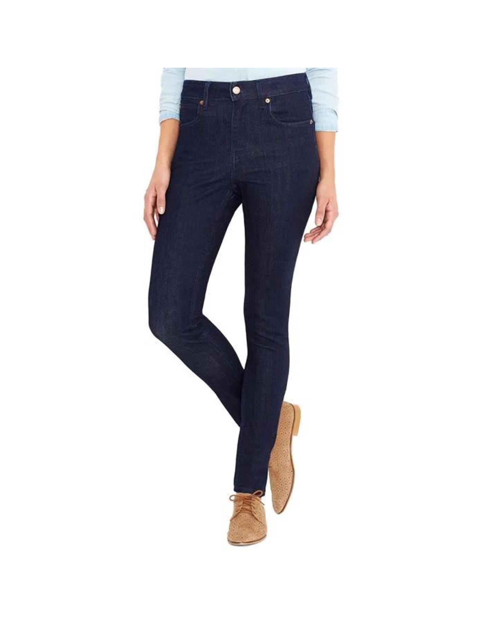 LEVI Levi's 721 Ladies Commuter High Skinny Indigo Jeans - 26 X 32