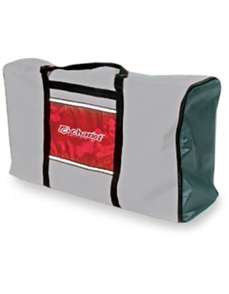 Chariot Travel Bag Single - Red/Grey