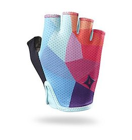 SPECIALIZED Specialized Women's BG Grail Glove - Turquoise/Geo Fade - Large