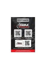 KRYPTONITE Kryptonite Bicycle ID Kit