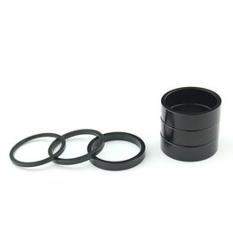 "1.5"" x 3mm Black Headset Spacer"