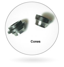 WHEELS MANUFACTURING Wheels Manufacturing Cones Assorted For Shimano 9/10mm Axles