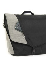 ARKEL Arkel Messenger Briefcase - Black/Grey