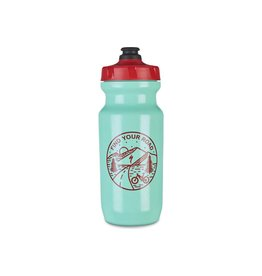 Specialized Little Big Mouth 2nd Generation Bottle  - Turquoise/Red - 21oz