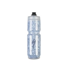 SPECIALIZED Specialized Insulated Chromatek Moflo Purist Bottle - Translucent/Blue - 23oz