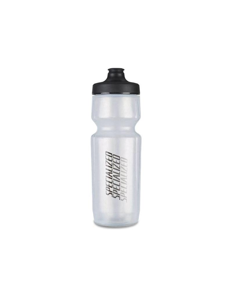SPECIALIZED Specialized Purist Hydroflo Watergate Bottle - Translucent/Black - Diffuse - 23oz
