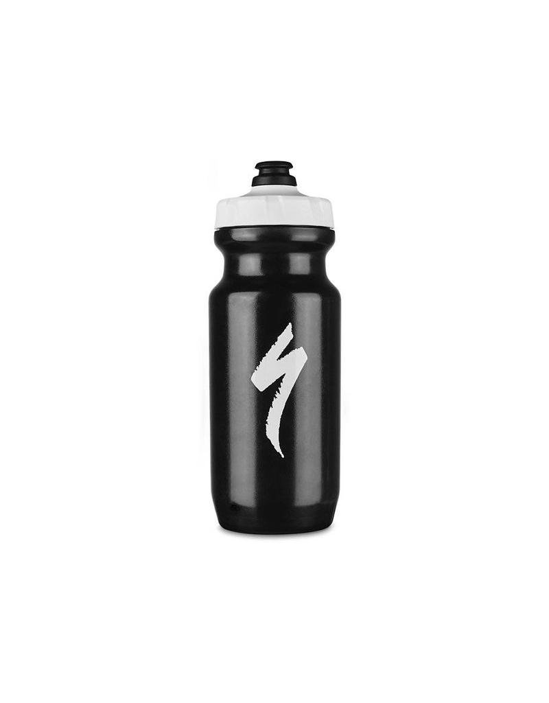 SPECIALIZED Specialized Little Big Mouth 2nd Generation Bottle - Black/White S-Logo - 21oz