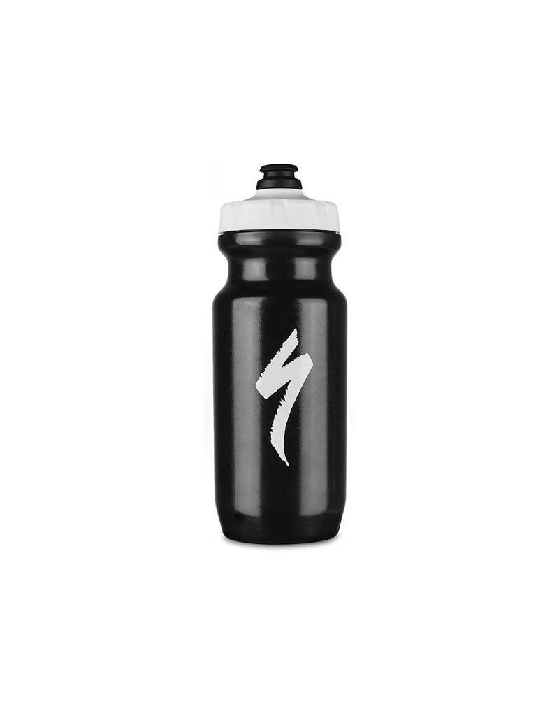 SPECIALIZED Specialized Little Big Mouth 2nd Generation Bottle - Black/White S-Logo - 21oz