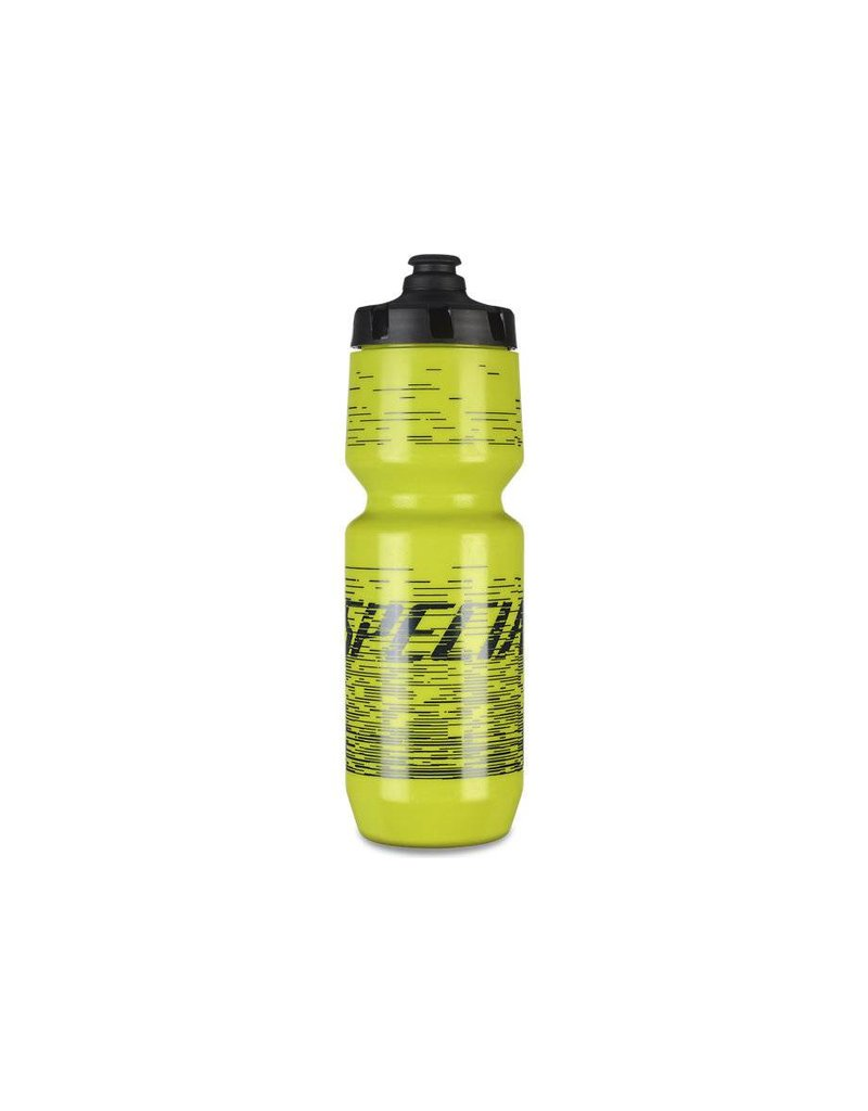 SPECIALIZED Specialized Moflo Purist Bottle - Hyper Green/Blue - 26oz