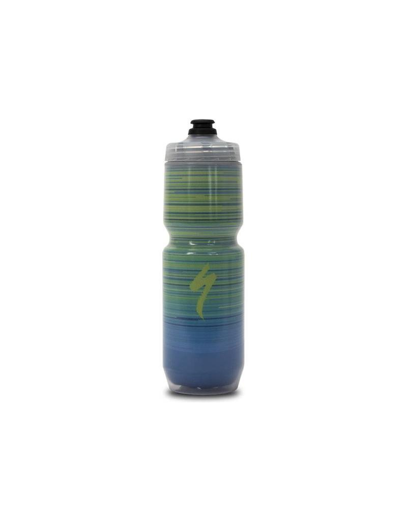 SPECIALIZED Specialized Insulated Chromatek Moflo Purist Bottle - Green/Blue - 23oz