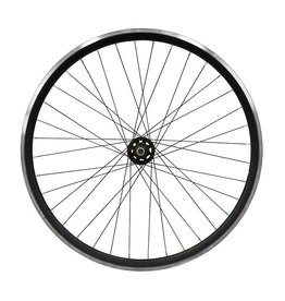 700c Rear Track Wheel - Double Wall 30mm - Flip Flop Hub - Bolt On with 16t cog
