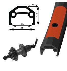 700c  Alloy Double Wall Rear Wheel/Deore 475 8/9-Speed Cassette 6 Bolt QR