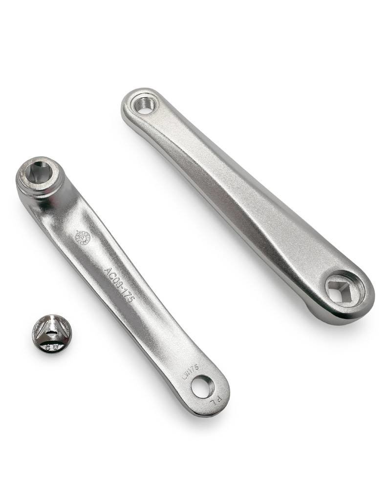 ECONO Crankarm 175mm Diamond - Silver