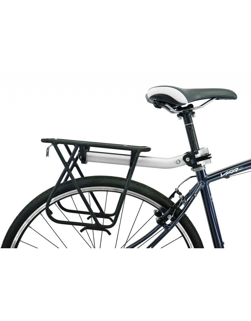 AXIOM Axiom Flip-Flop DLX Seatpost Black/Silver Rack