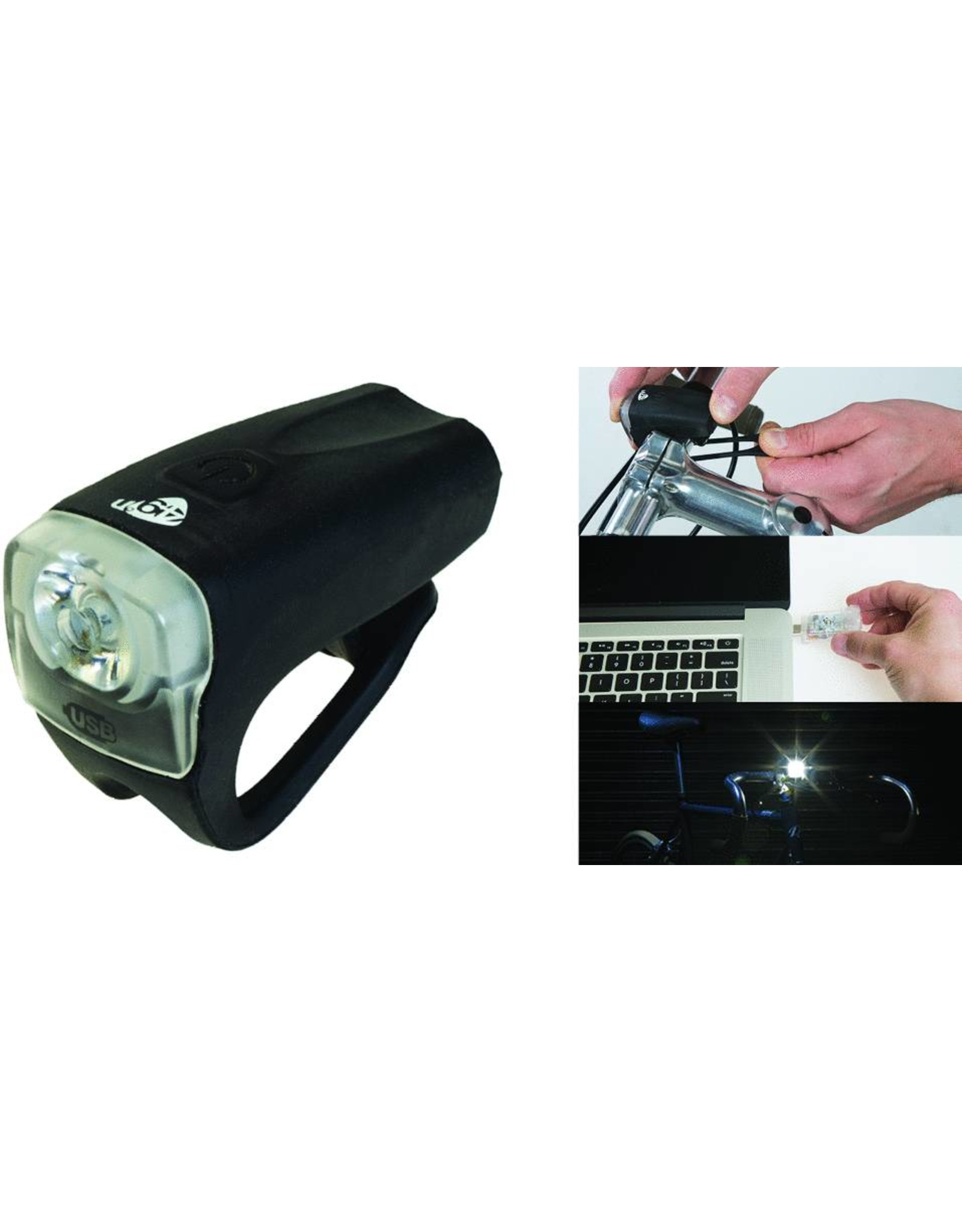 49N 49N Ultra Doppler USB Rechargable Headlight