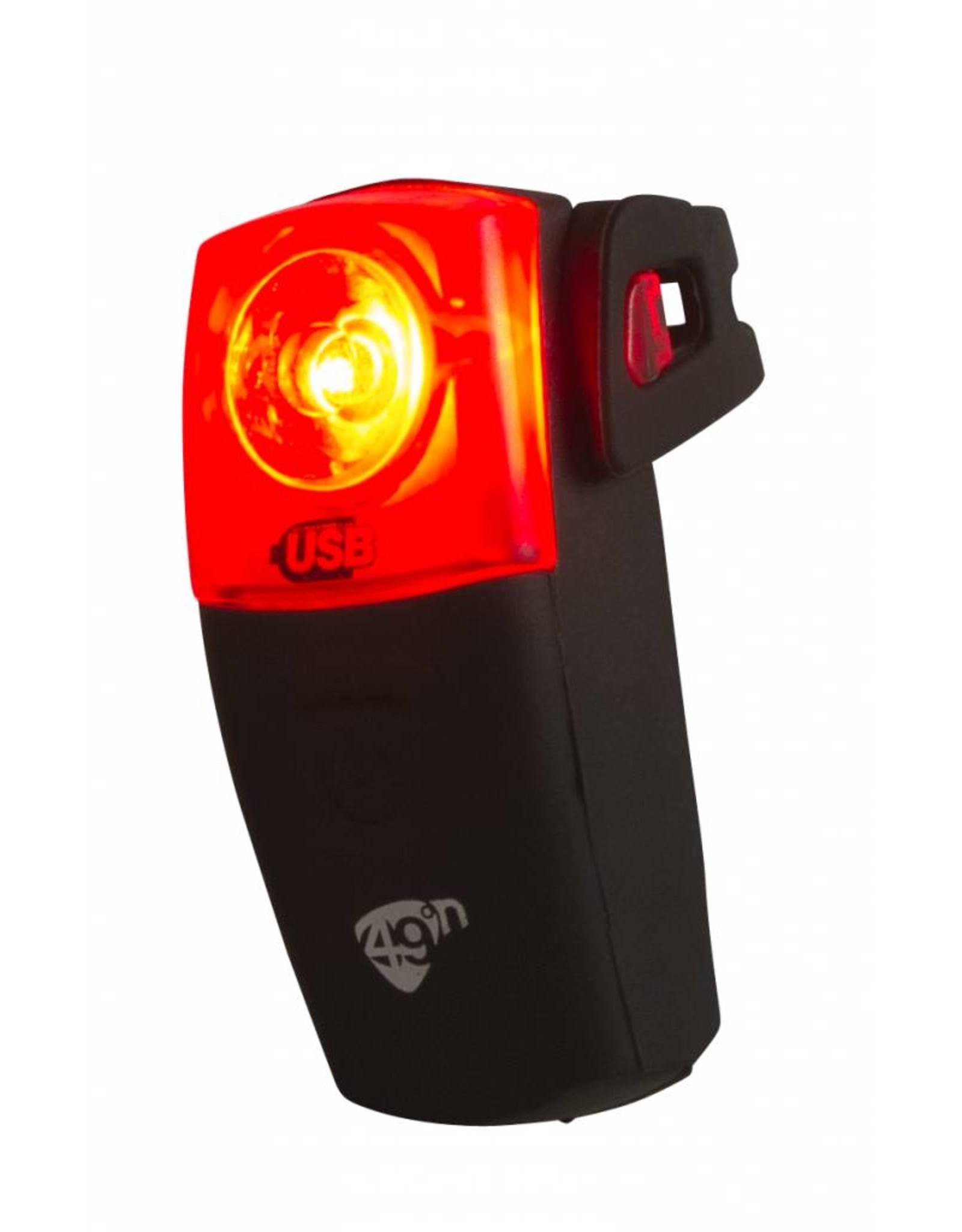 49N 49N Ultra Doppler USB Rechargable Rear Light