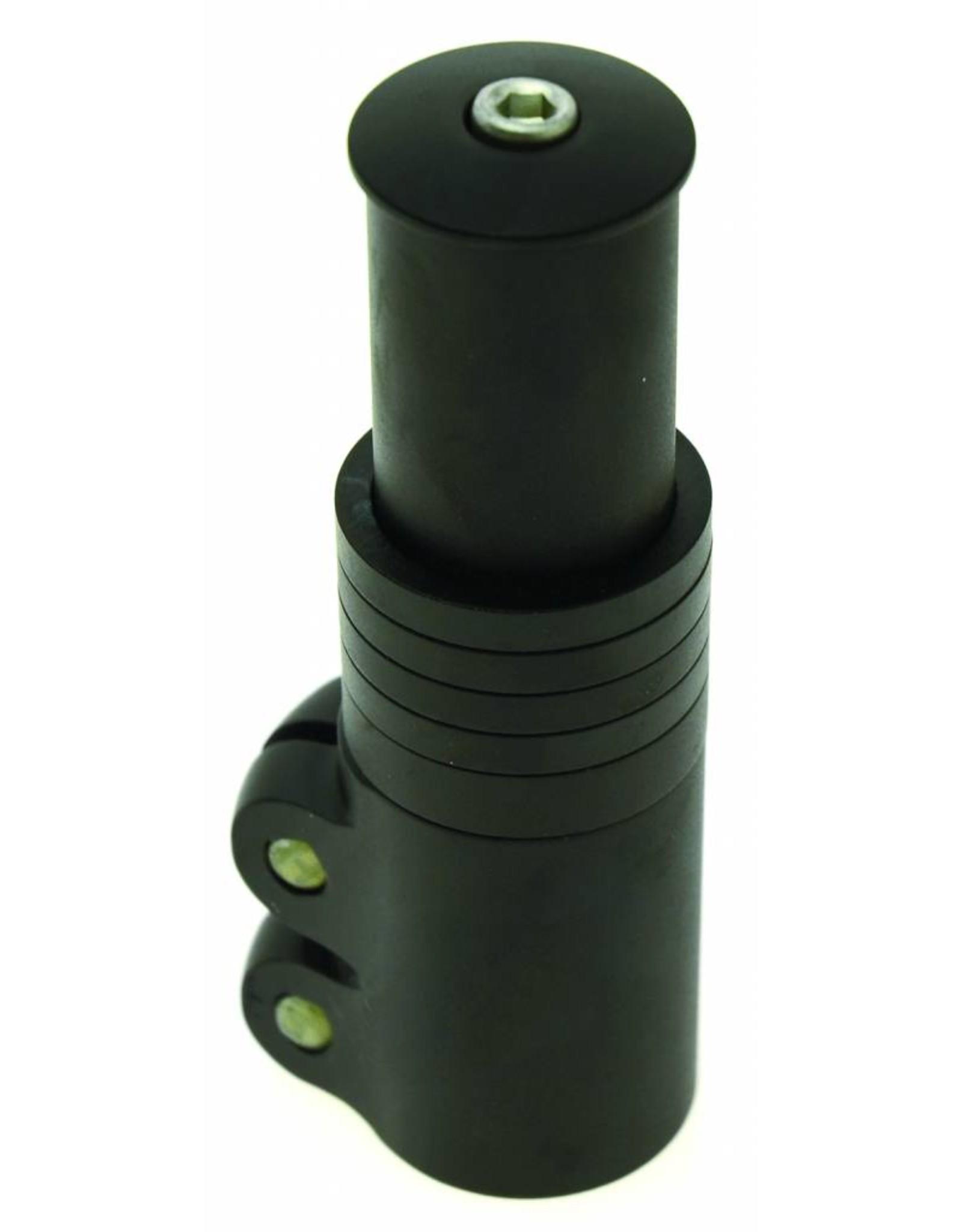 49N 49n Stem Height Extender Black 1 1/8  Extension 117mm