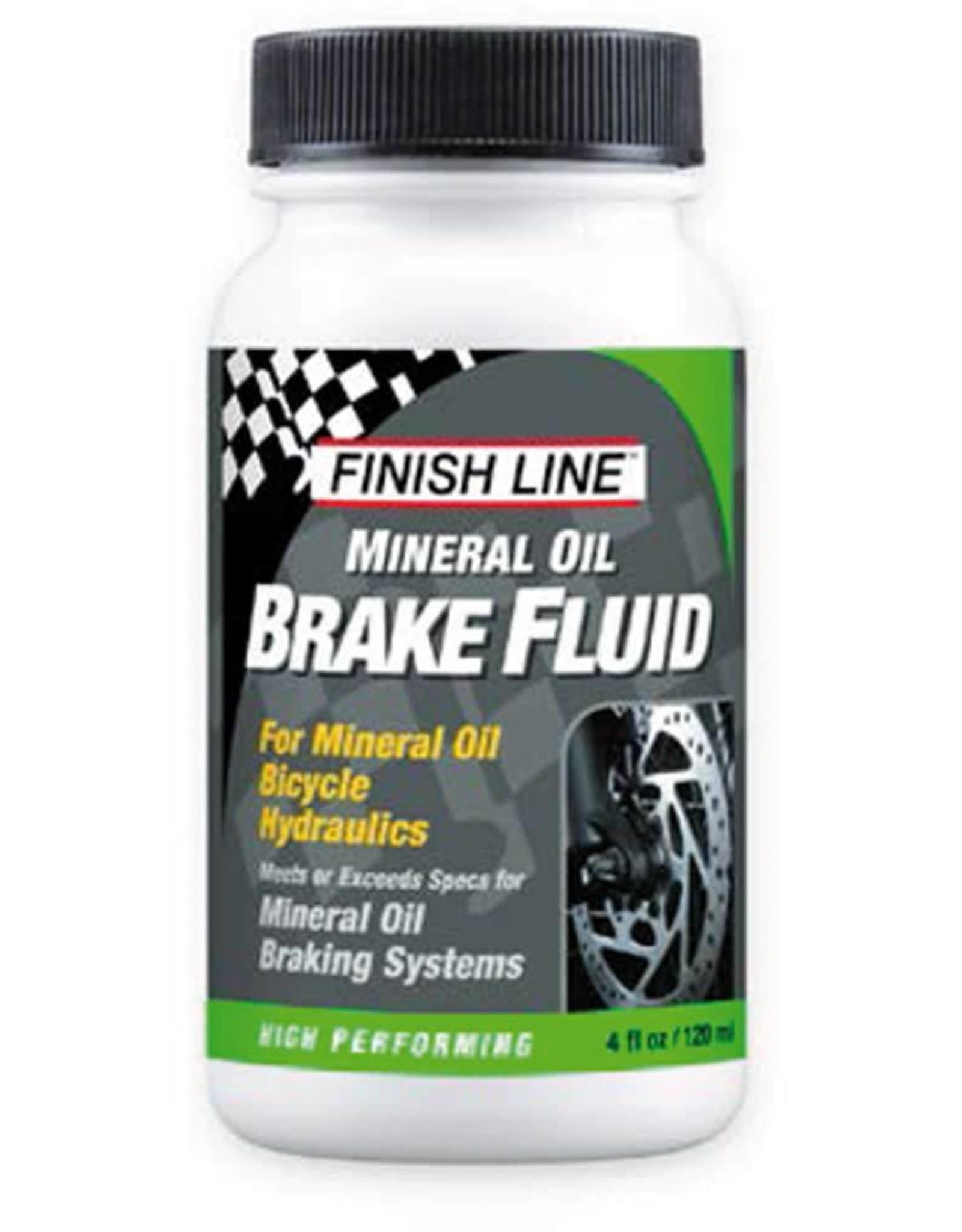 FINISH LINE Finish Line Mineral Brake Fluid 4oz Big Mouth (Single Unit)