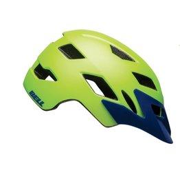 BELL Bell Sidetrack Helmet - Matte Bright Green/Blue Universal Youth
