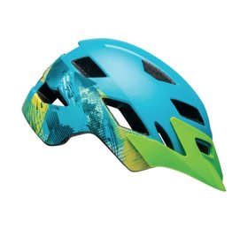 BELL Bell Sidetrack Helmet - Gnarly Matte Bright Blue/Bright Green Universal Youth