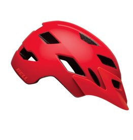BELL Bell Sidetrack Helmet - Matte Red/Orange Universal Child