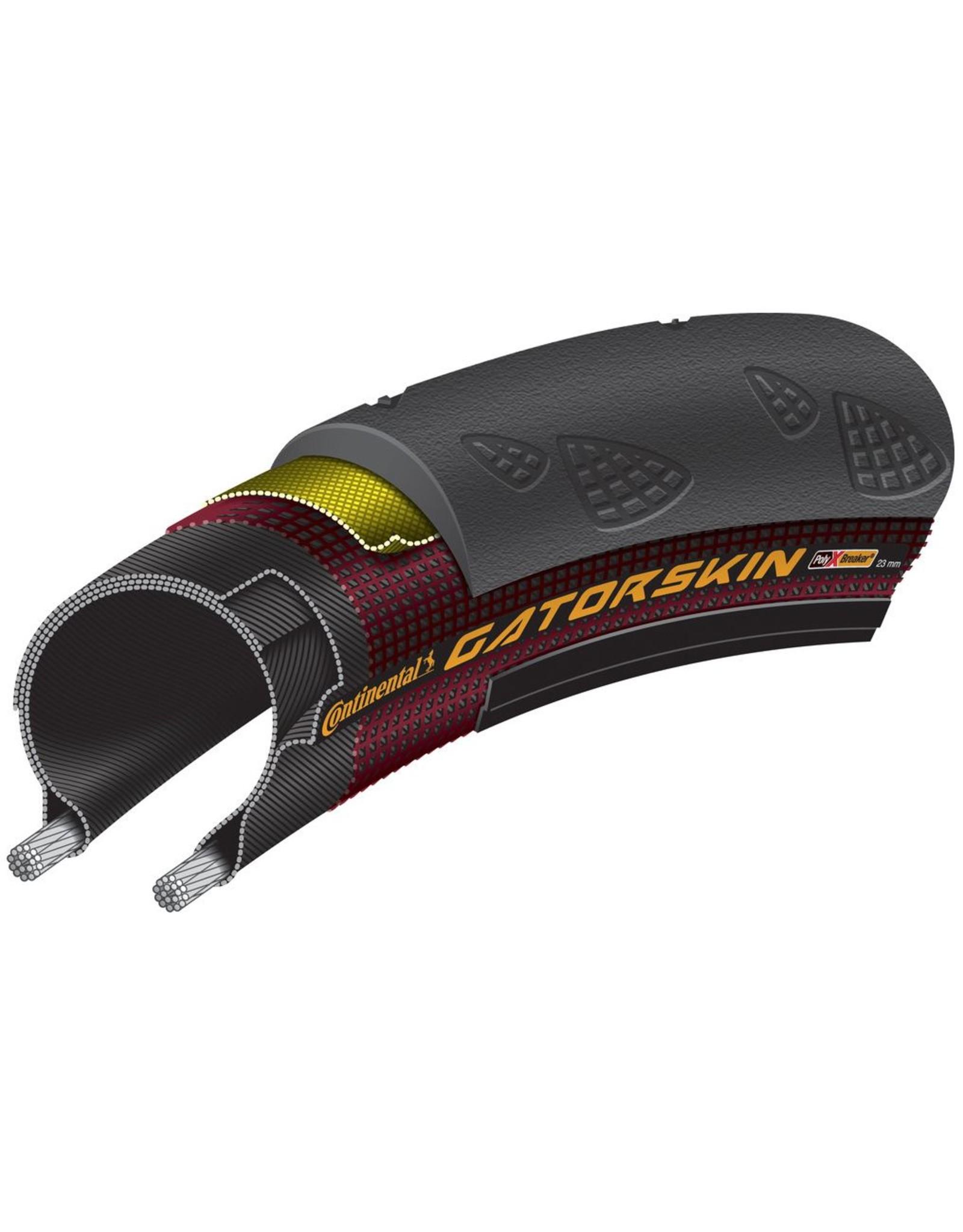 CONTINENTAL Continental Gatorskin 700c Wire Bead Tire Duraskin