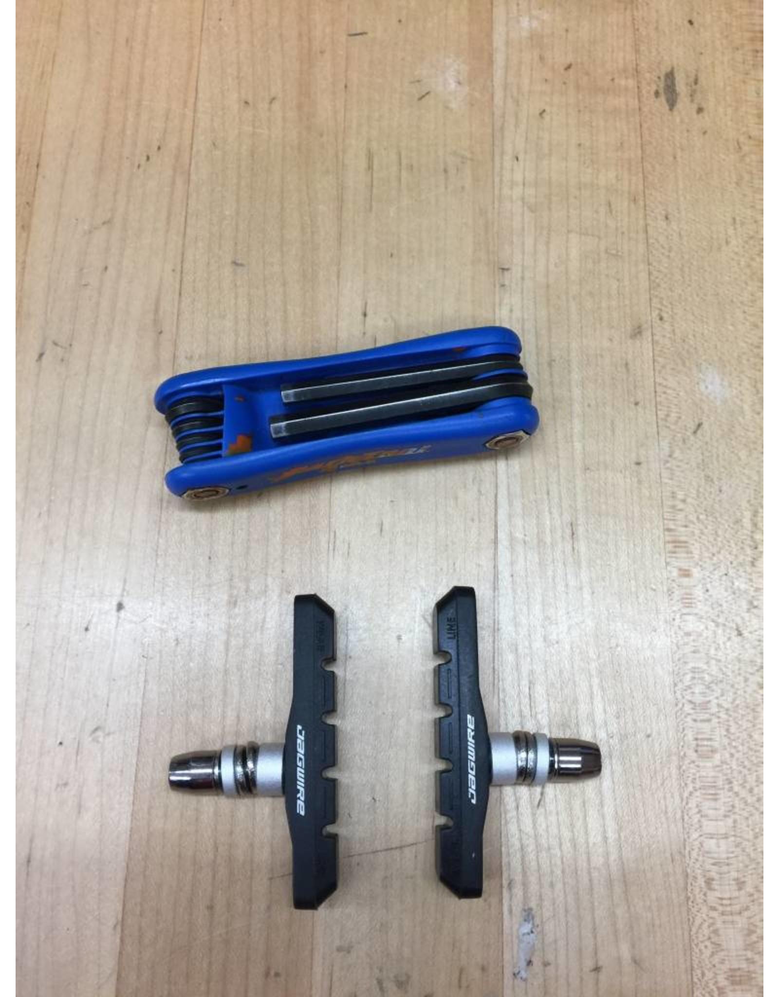 SERVICE Tune Up Rim Brake Pad Install - Rear