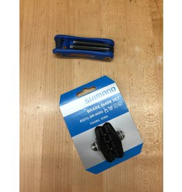 SERVICE Rim Brake Pad Install - Rear
