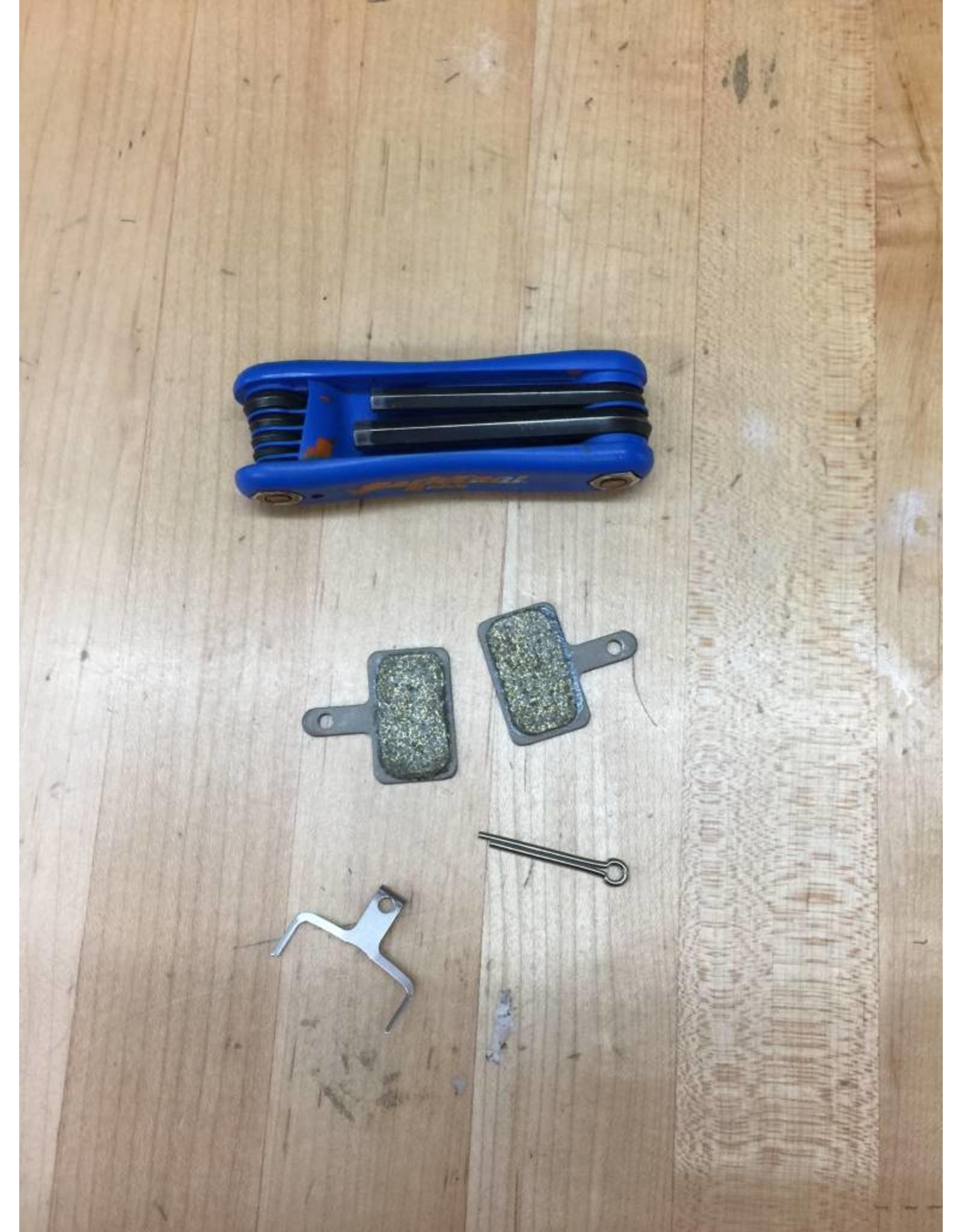 SERVICE Disc Brake Pad Install - Rear ($20-$40)