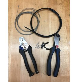SERVICE Install Shift Cables/Housing - Front & Rear