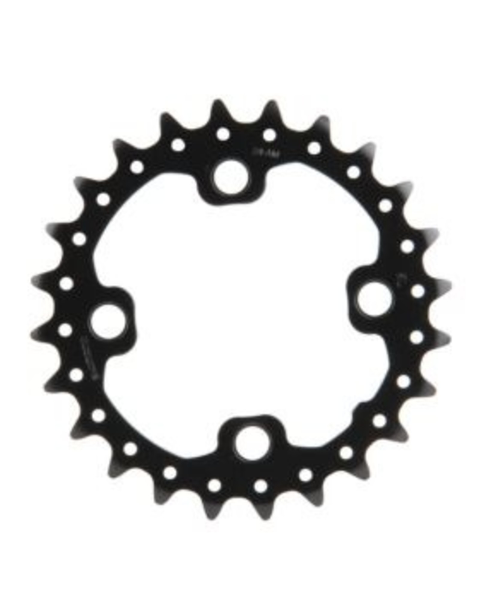 SHIMANO Shimano Y1NA24000 24T 10-Speed BCD: 64mm, 4 Bolt, SLX FC-M675, Inner Chainring, For 24/38, Aluminum, Black
