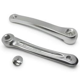 ECONO 170mm Left Crank Arm Square Alloy - Silver