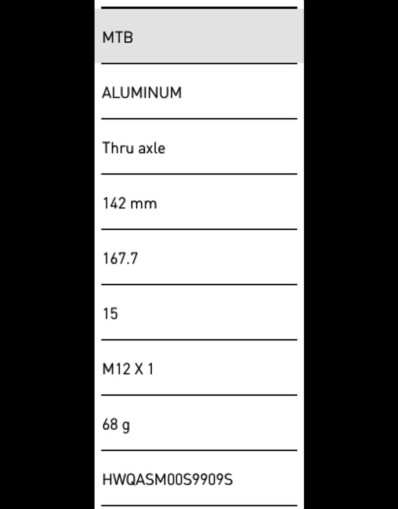DT Swiss MTB Thru-Bolt RWS 12 X 142 (X12)