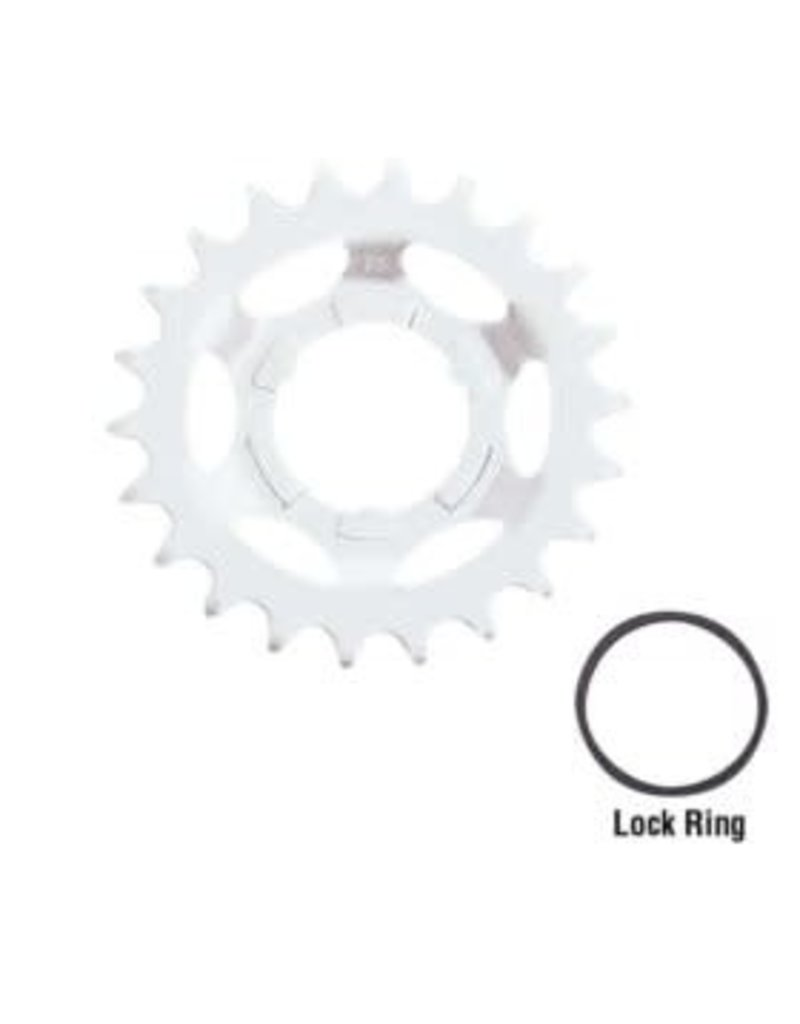 SHIMANO Shimano Replacement Sprockets for Internal Speed Hubs - Y32203420 3S-N Cog 18T - Silver