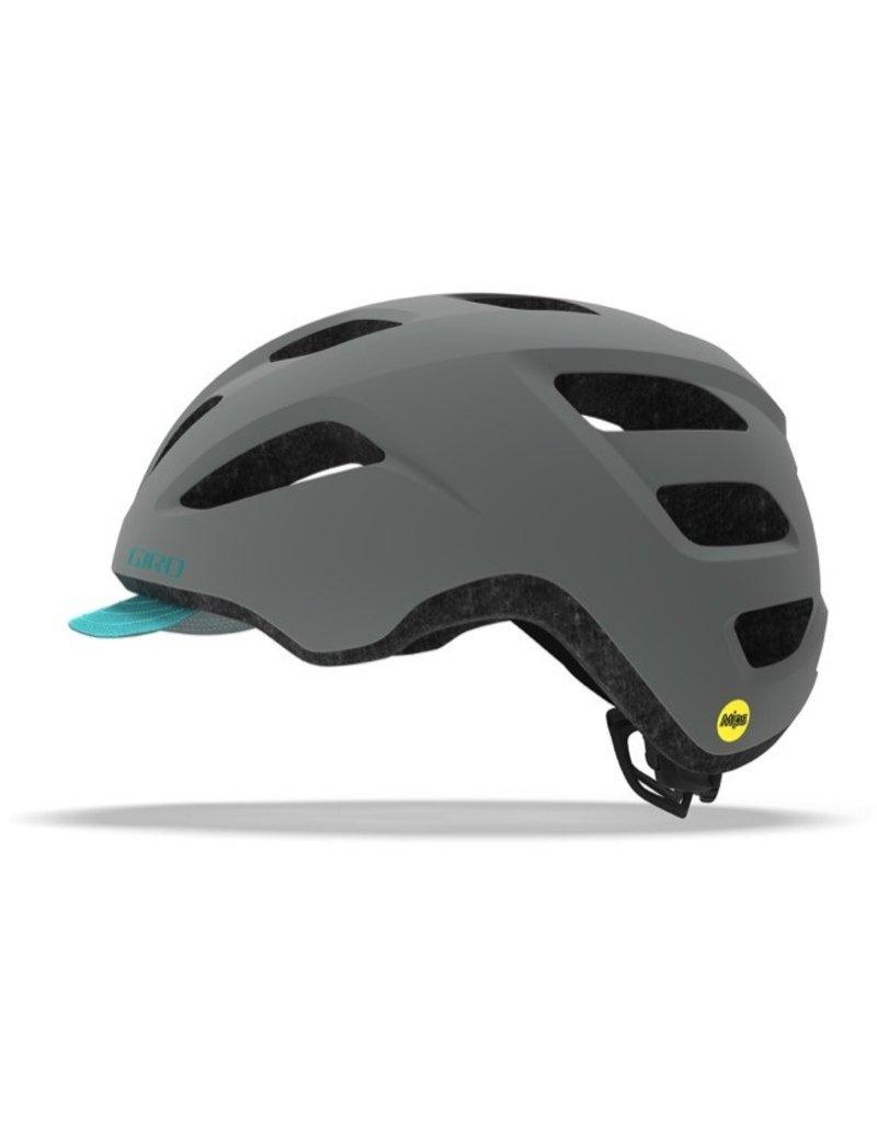 GIRO Giro Helmet Trella Mips Matte Grey/Dark Teal Universal Women's