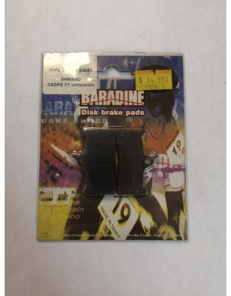 Baradine Disc Brake Pads Shimano Deore XT compatible