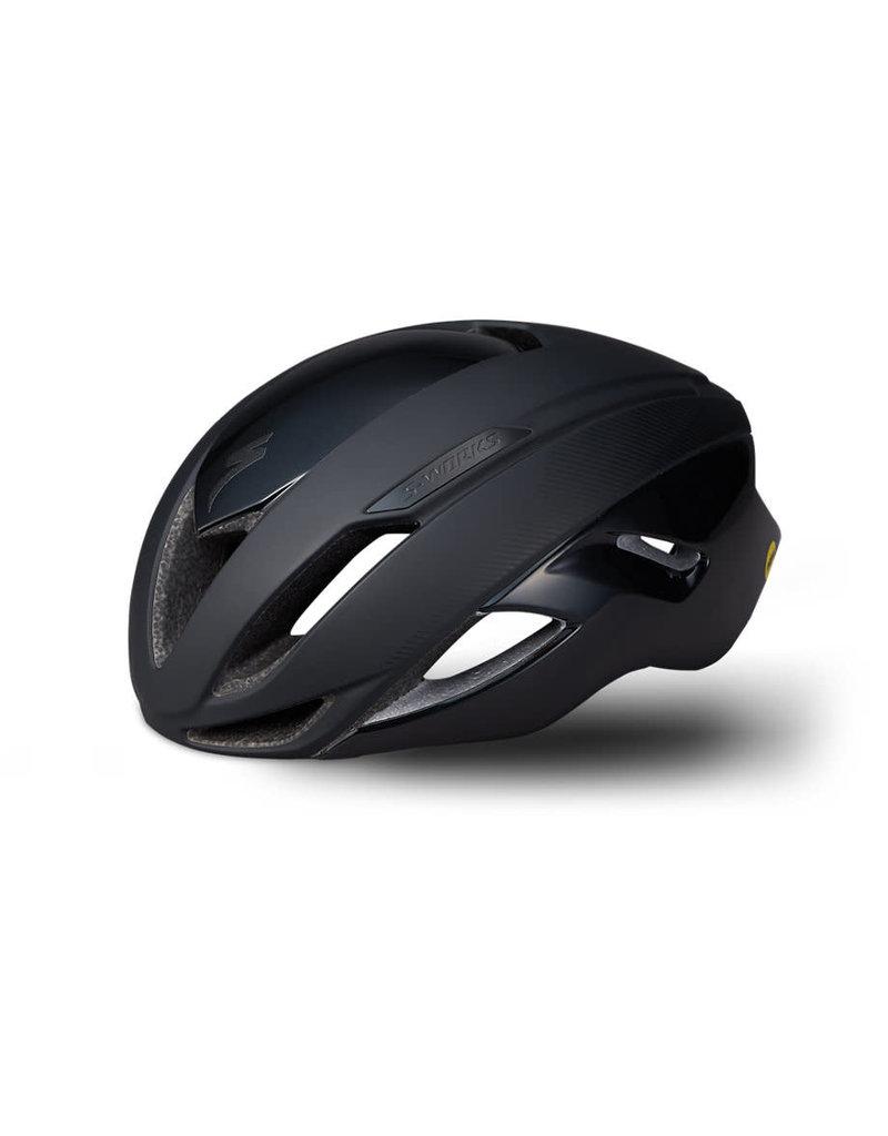 SPECIALIZED Specialized S-Works Evade II Angi Mips Helmet - Black - Medium