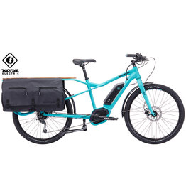 KONA Kona Electric Ute Matte Dirty Cyan