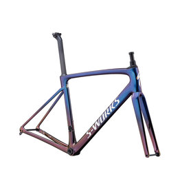 SPECIALIZED Specialized S-Works Roubaix Frameset - Sunset/Chameleon Fade/Holographic Reflective