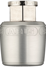 Abus Abus Nutfix Locking Axle Nuts Pair M10 Silver