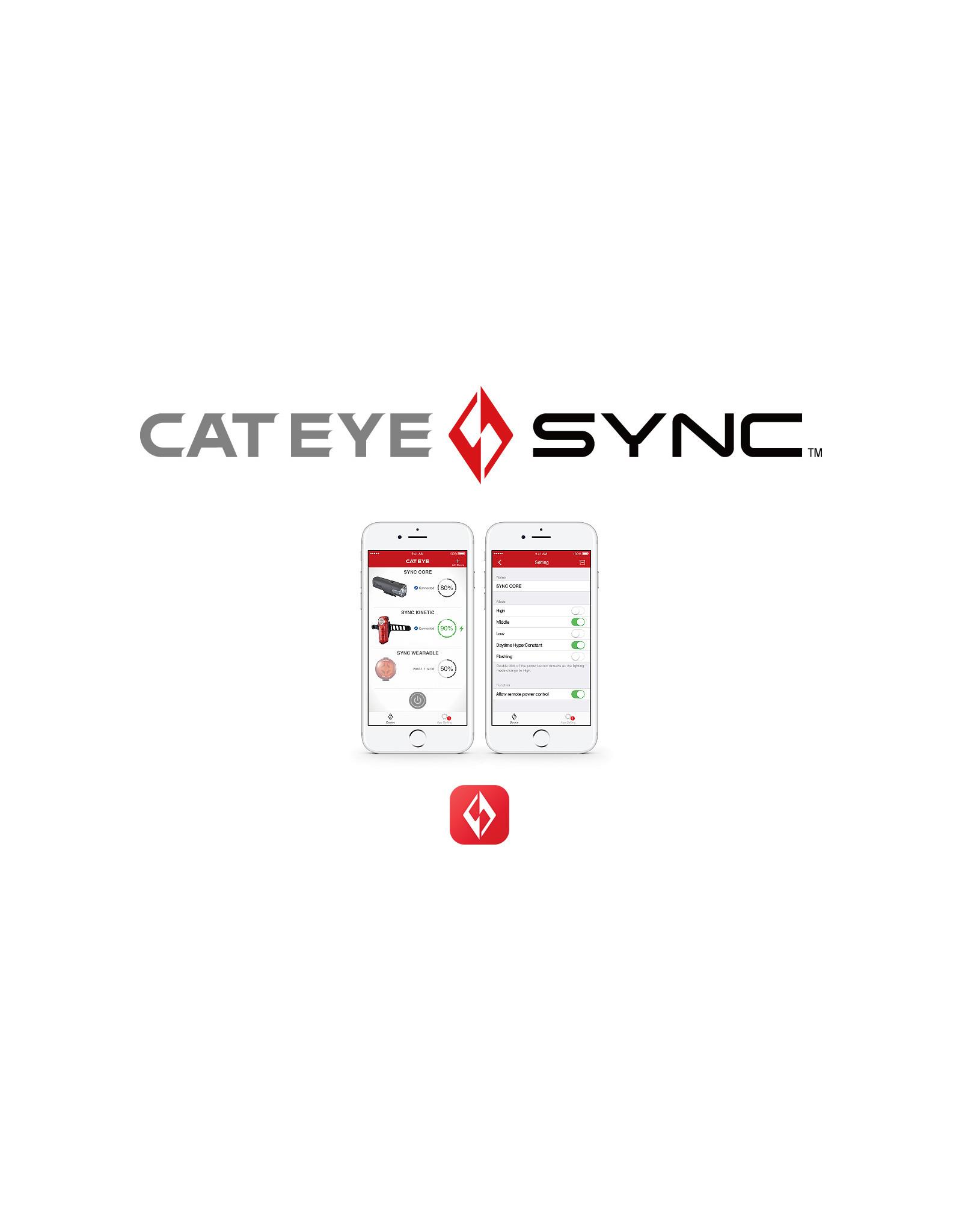 CAT EYE Cat Eye SYNC Wearable Light - Rear