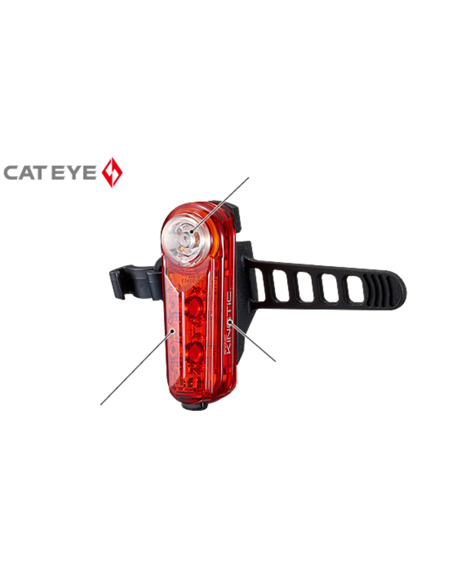 CAT EYE Cat Eye SYNC Kinetic Light - Rear