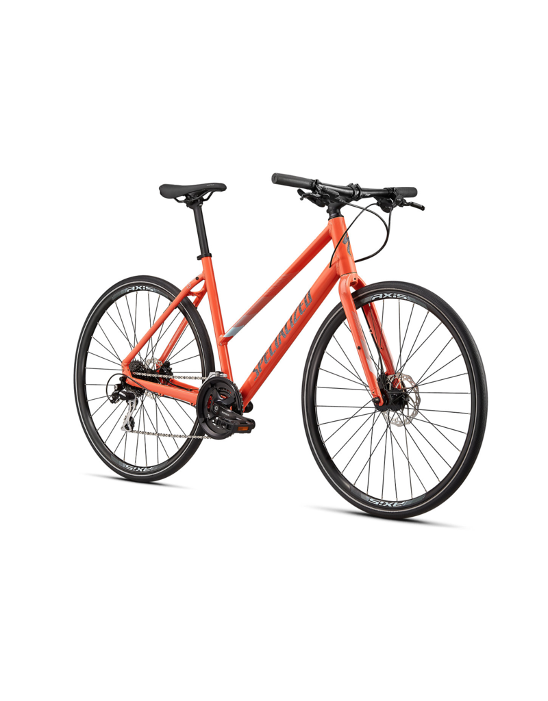SPECIALIZED Specialized Sirrus 2.0 StepThru Vivid Coral / Summer Blue / Black