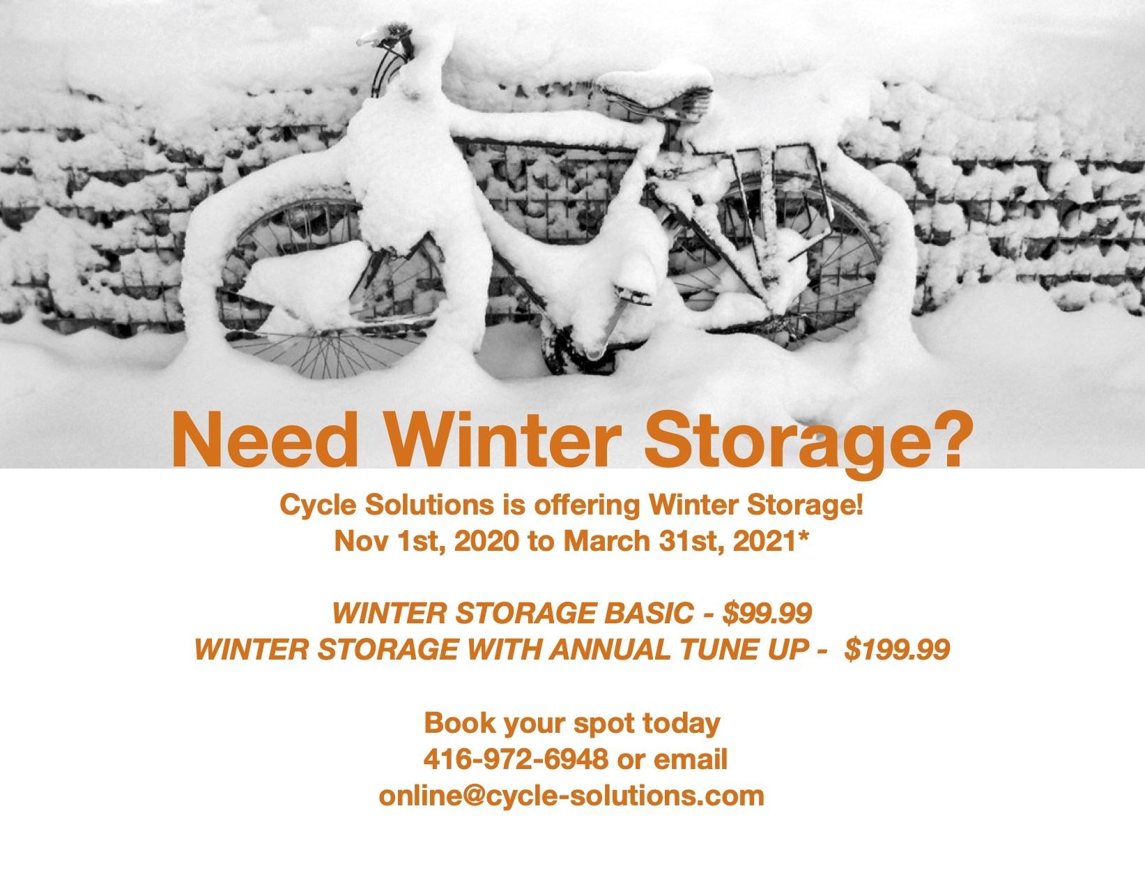Winter Storager