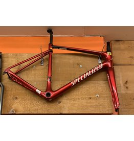 SPECIALIZED Specialized Roubaix Hydro Frame - Gloss/Candy Red/Tarmac Black/Metallic White Silver 56 Frame Set Only
