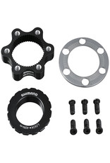 SHIMANO Shimano Centerlock 6-Bolt Mount Adapter SM-RTAD05, With Outer Serration Lock Ring, Ind. Pack