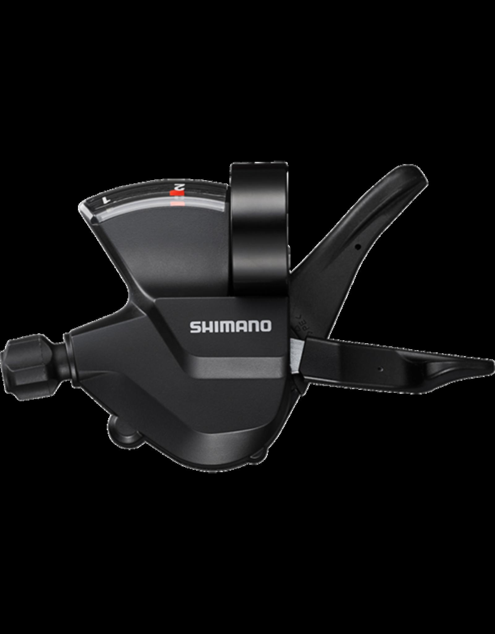 SHIMANO Shimano Shift Lever SL-M315-2L, Left 2-Speed Rapidfire Plus 1