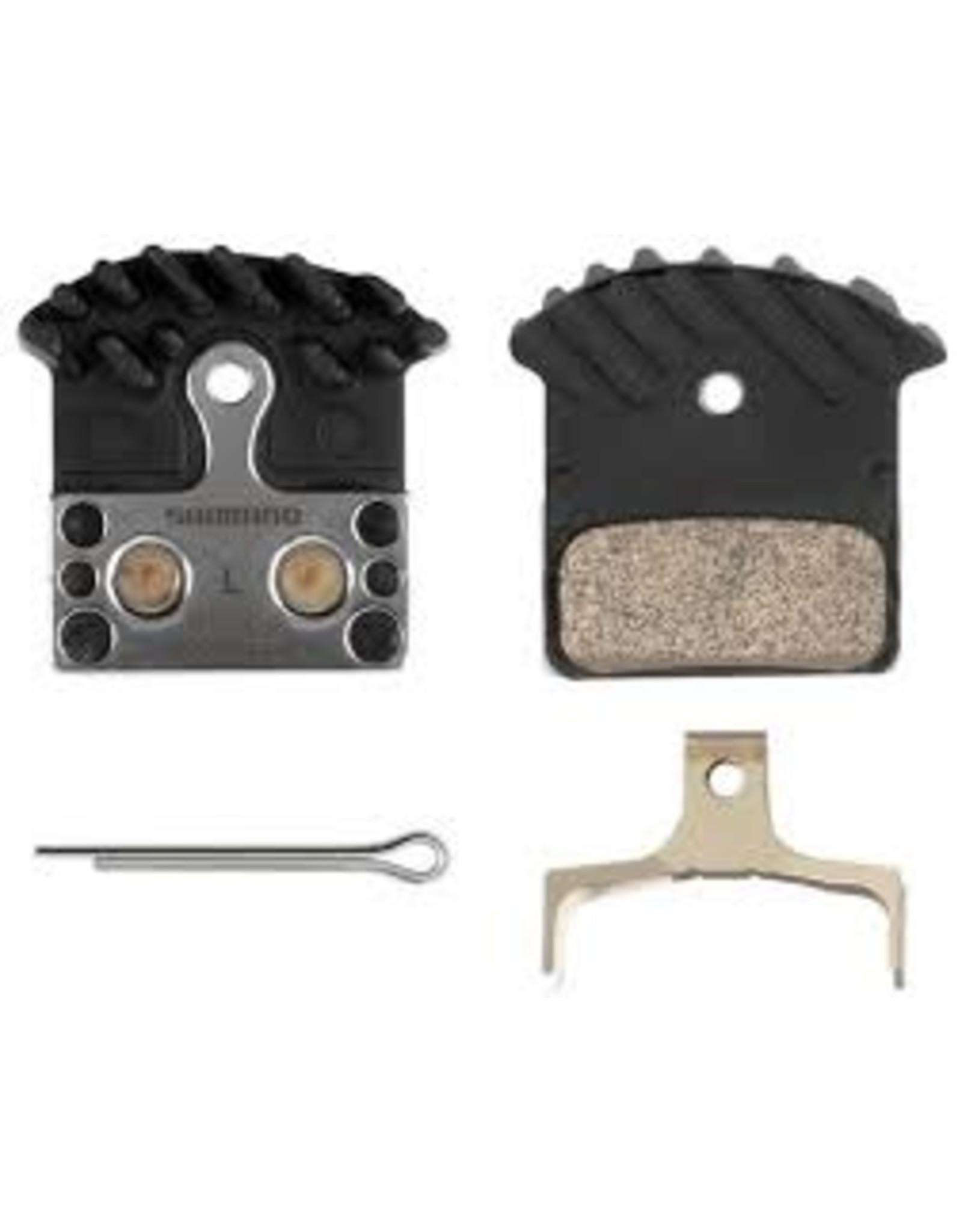 SHIMANO Shimano J04C Metal Brake Pads & Spring Single Pair Bulk